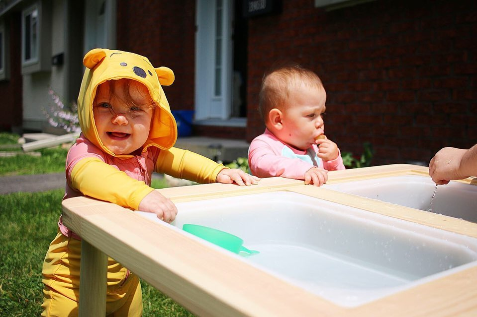 Easy Outdoor Water Play