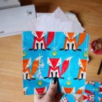 LAMINATED GIFT BAGS