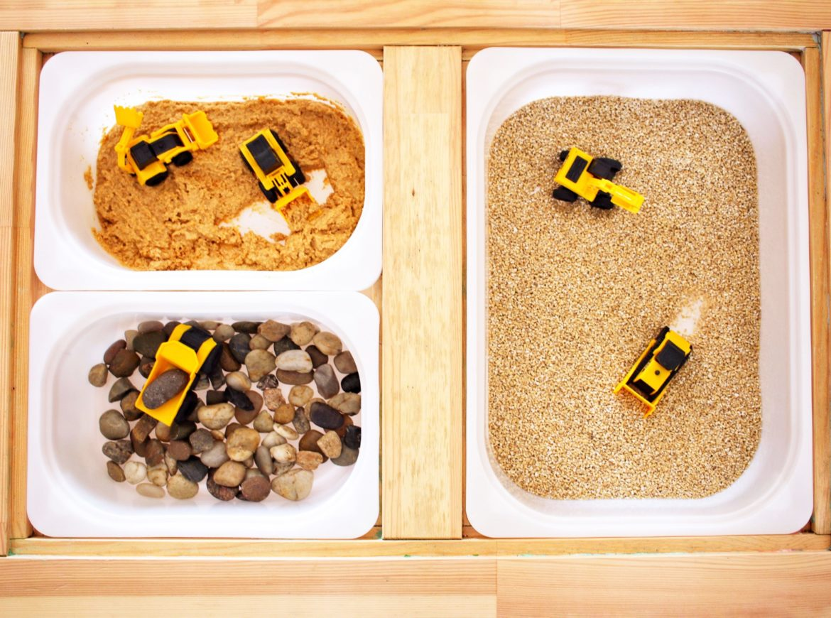 TASTE SAFE CONSTRUCTION SITE SENSORY BIN